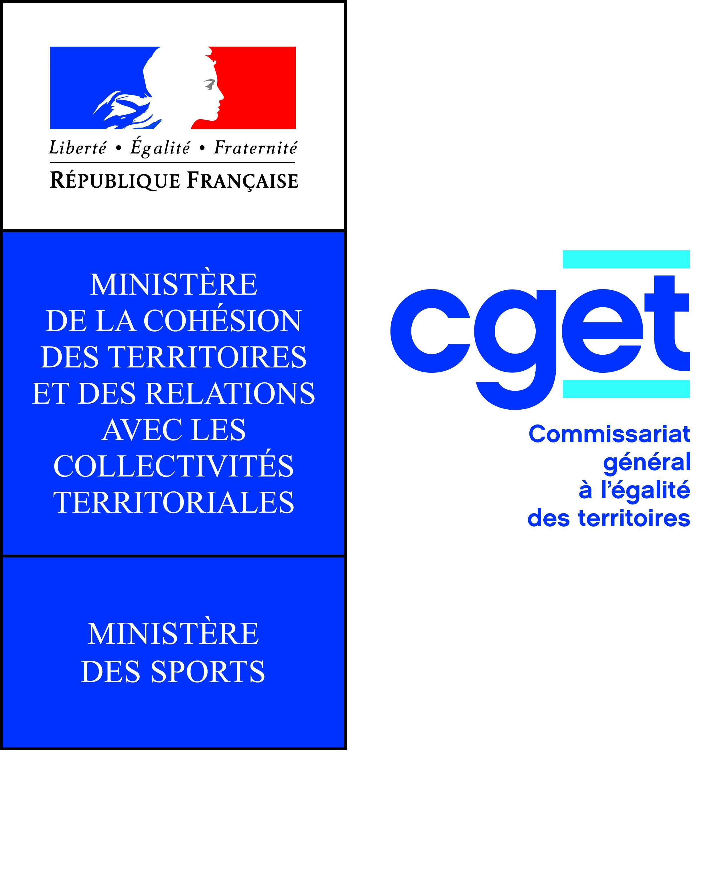 Commissariat général à l'égalité des territoires et Ministère des Sports
